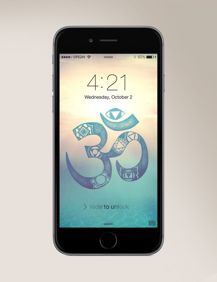 FREE - Chakra Om Wallpaper for any smartphone! www.sivanaspirit.com