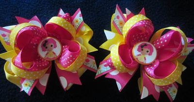 Custom Hair Bows for Piggies Pigtails made with Lalaloopsy Crumbs Sugar Cookie Images. $16.99, via Etsy.Lalaloopsy Hair, Hair Pretty, Cookies Image, Hair Clips, Etsy, Custom Hair, Hairbows Misc, Hair Bows, Hair Stuff