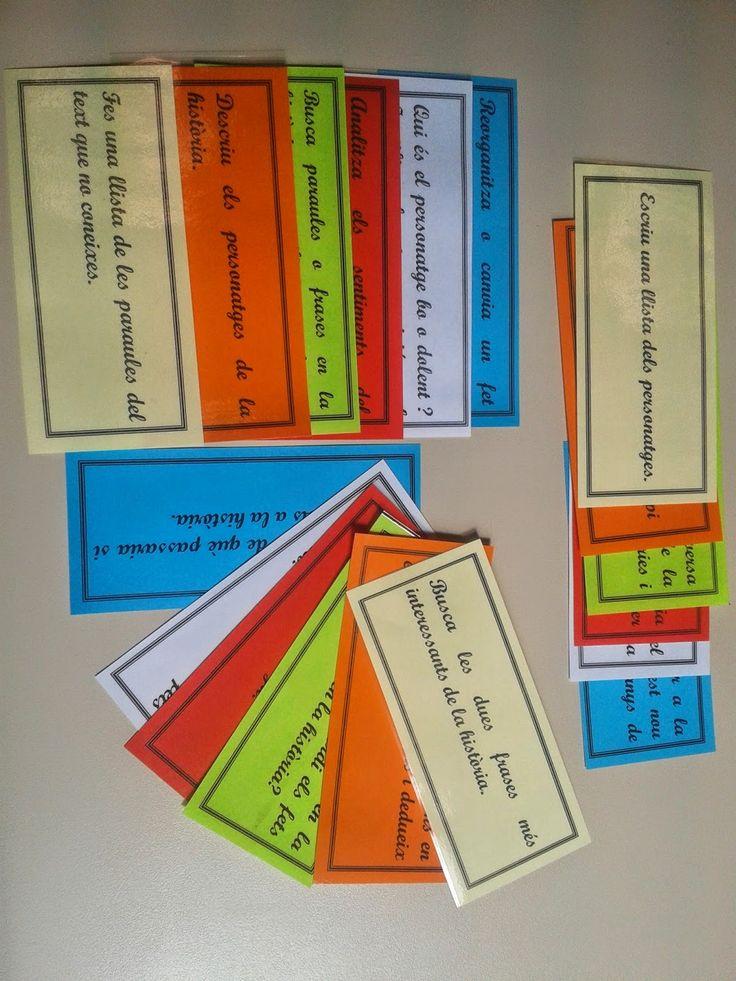 Materials per imprimir per treballar la comprensió lectora