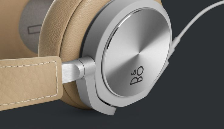 BeoPlay H6 — Highest quality leather ensures that the headphones patinate beautifully | B&O PLAY #BeoPlay #BeoPlayH6 #headphones