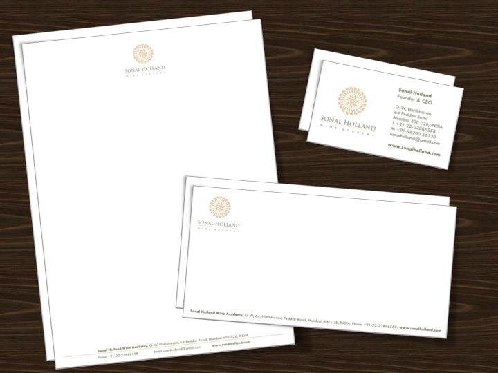 Category: Lifestyle. KAD Communication Consultants conceptualized the business stationery.