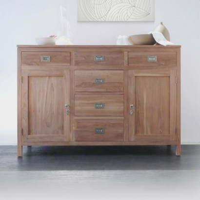 Coffee Tek Teak Sideboard 150. Tikamoon furniture at tikamoon.co.uk !