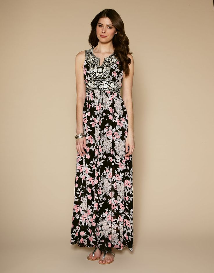 Maxi dress in store