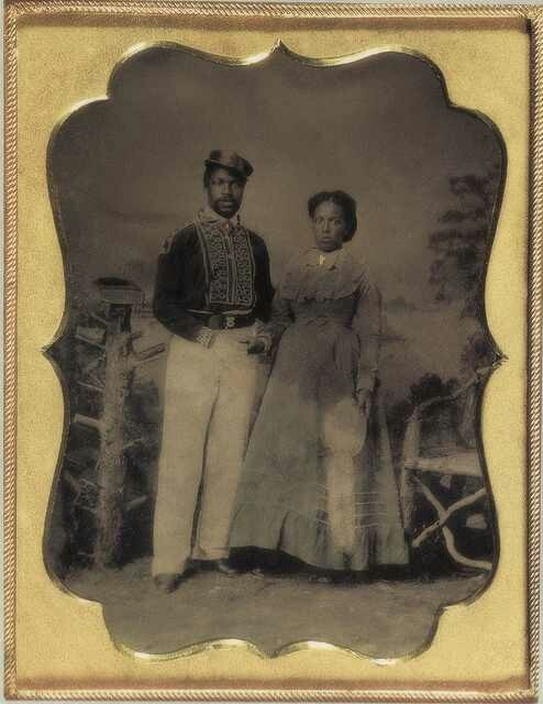 Couple in the Late 1800s