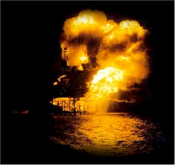 The Piper Alpha – Worst Oil Rig Fire EVER