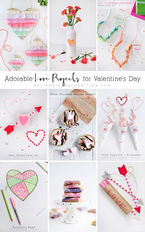 Adorable LOVE Projects for Valentine's Day - Delineate Your Dwelling