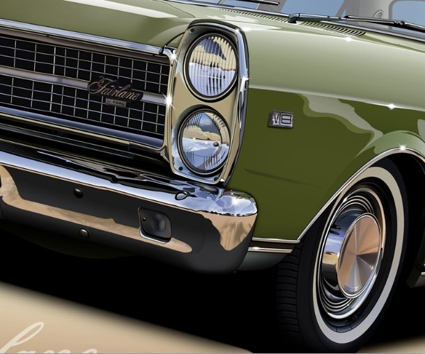 ZD Ford fairlane