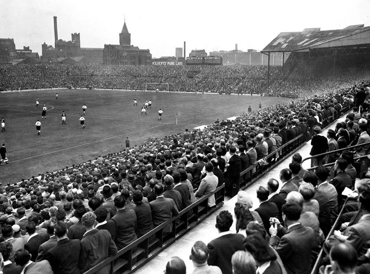 Old Trafford during the good old days