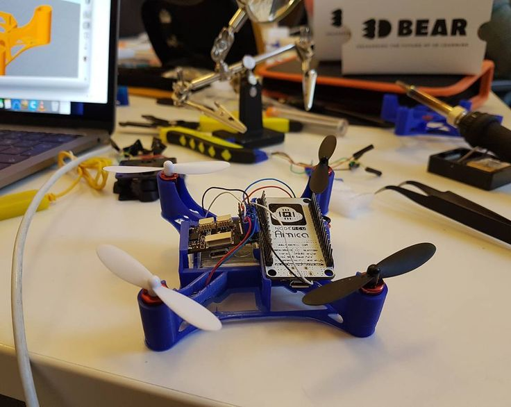 Designing a drone we can always fly higher #3dbear #3dprinter #drone #opensource #kidsmaketheirowntoys