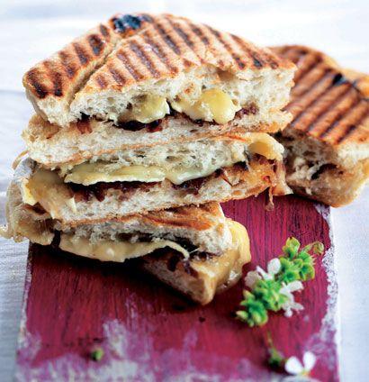 Brie and caramelised onion braai sarmies | Woolworths TASTE