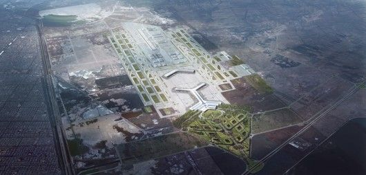 MIR Sordo Madaleno Arquictectos & Pascall+Watson Presents Proposal for New Mexico City International Airport
