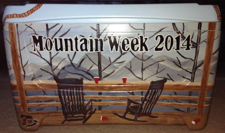 Mountain Weekend cooler