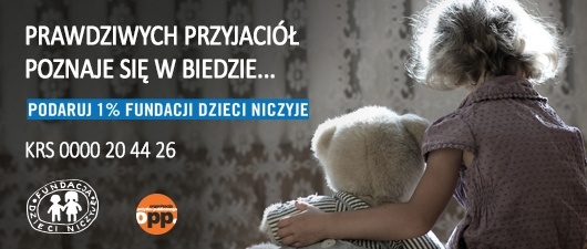 Strona Fundacji Dzieci Niczyje
