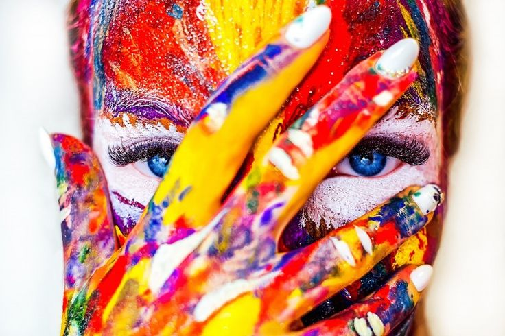 Paint Makeup Cracky Girl Cosmetics 5k Wallpapers and Free Stock Photos - Visual Cocaine -Image category:CC0 Creative Commons.