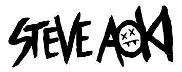 Steve Aoki logo.