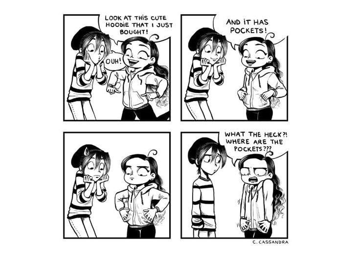 C. Cassandra comics :: Pockets | Tapastic Comics - image 1
