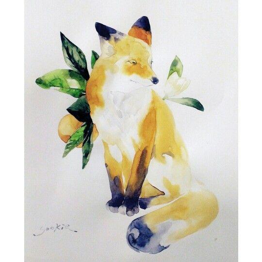 Fox illustration by Sookie Shen