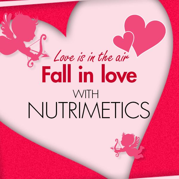 Fall in love with Nutrimetics this Valentines Day! #nutrilove www.nutrimetics.com.au/lesleypoole