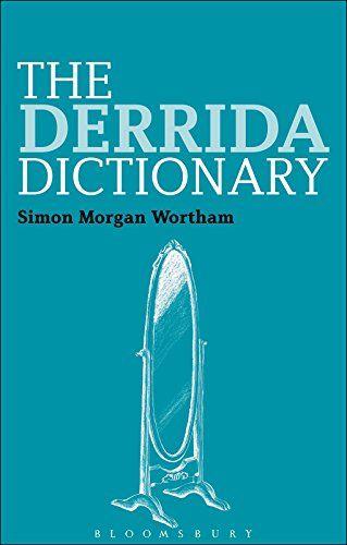 The Derrida Dictionary (Continuum Philosophy Dictionaries) by [Wortham, Simon Morgan]