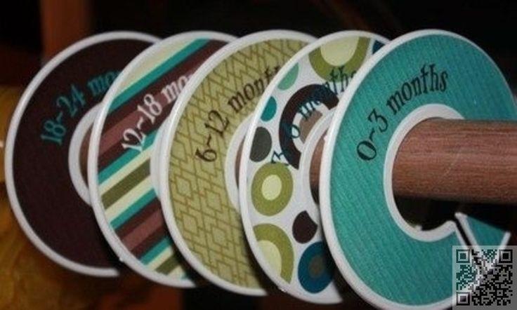 7. #bricolage diviseurs de #placard - 35 façons de #recycler de vieux #CD... → DIY