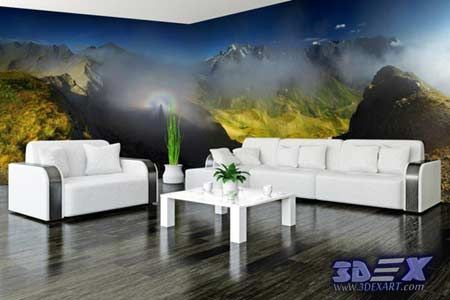 New 3D wallpaper designs for wall decoration in the home, 3d wallpapers 2018  How to decorate your home with 3D wallpaper for wall, One of the best 3D wall covering and texture for unique interior 2018, Top tips on how to choose suitable 3D wallpaper for a wall in your home, All types of 3D wallpaper types and how to install it?