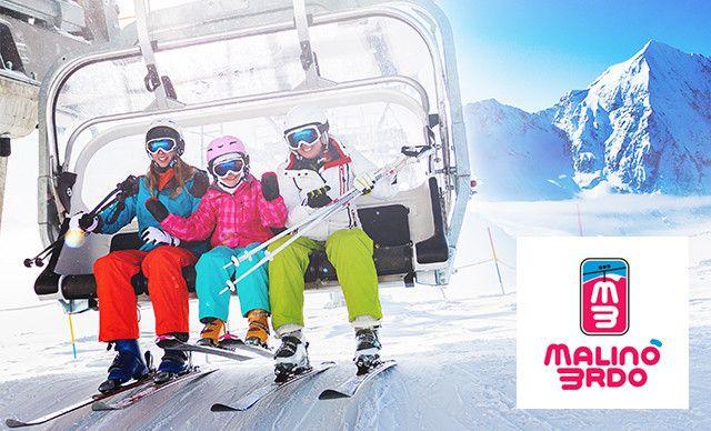 Celodenný skipas pre dospelú osobu v stredisku Malinô Brdo ski & bike park
