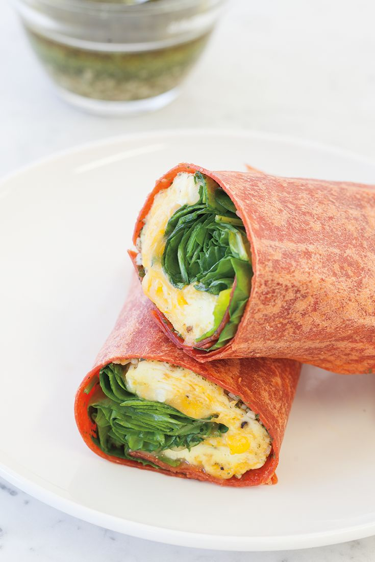 Omelet Wrap #goodfoodrealfast