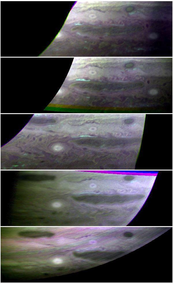 Ammonia Ice Clouds on Jupiter (NASA New Horizons Jupiter Encounter Image).