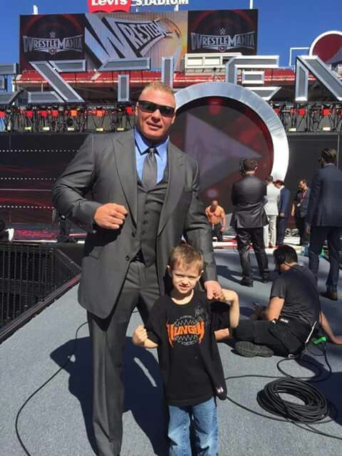 Brock Lesnar & Connor's Brother | Old WWF & New WWE ...