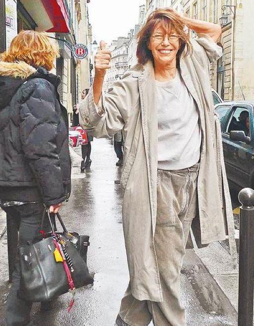Jane Birkin, 66 today.