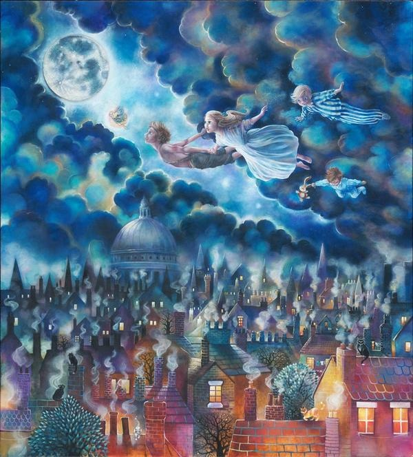 Kerry Darlington  - peter pan www.theroyalgallery.co.uk