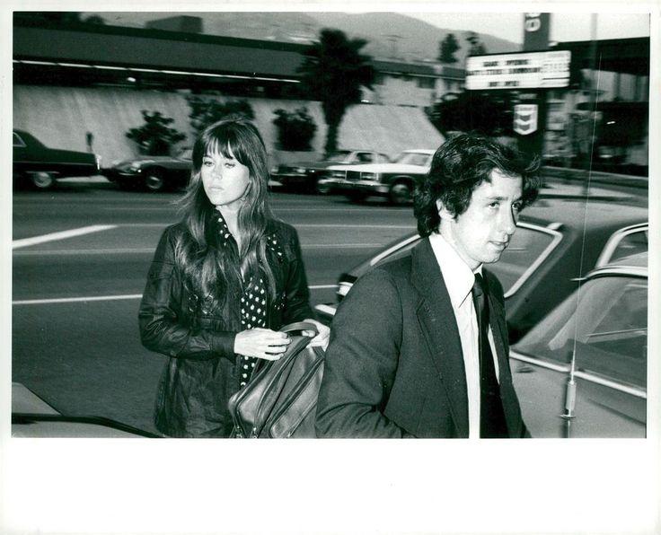 Vintage photo of Jane Fonda together with husband Tom Hayden | eBay