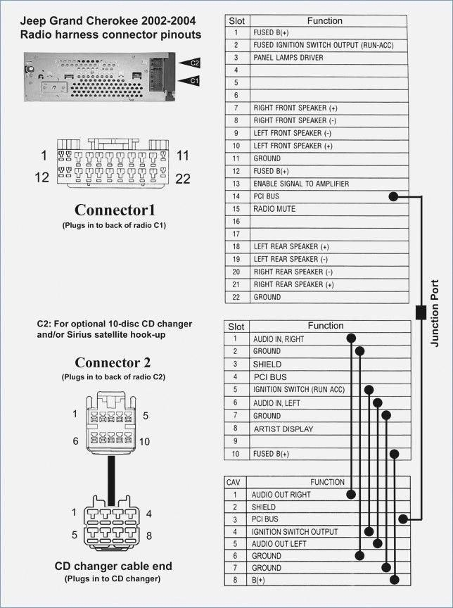 2000 jeep grand cherokee radio wiring diagram  description