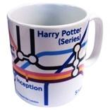 London Underground film map mug