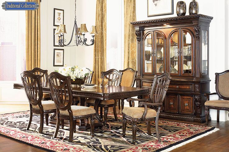 Grandeur Dining Room Victorian Style Dining Furniture Reproduction Part 74