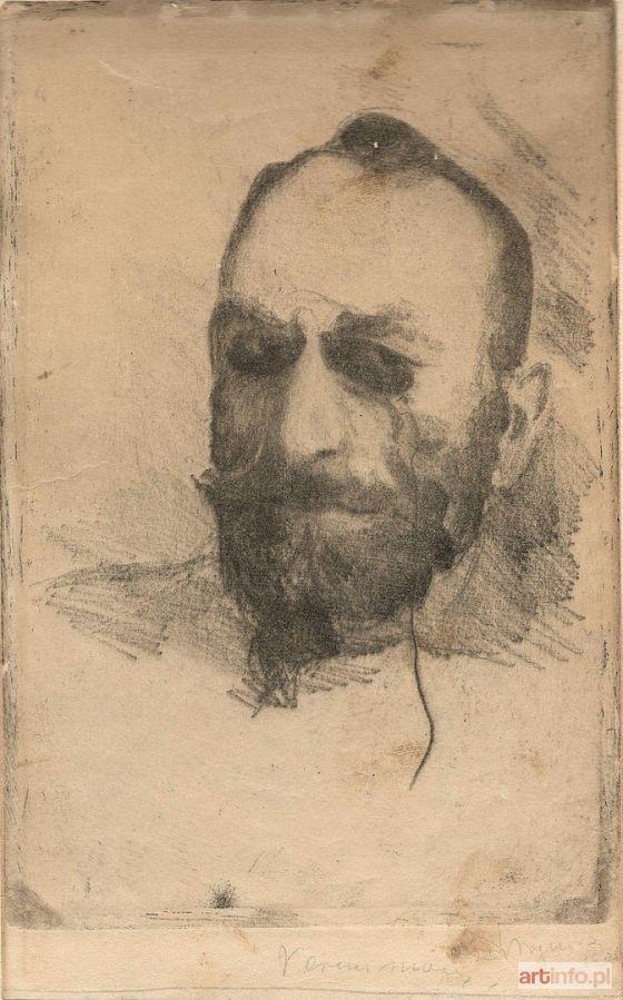 Leon WYCZÓŁKOWSKI ● Portret Feliksa Jasieńskiego, 1906 ●