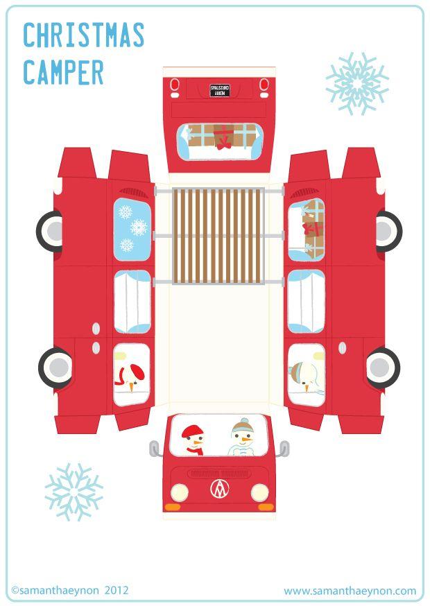 Samantha Eynon - Paper Toy Downloads