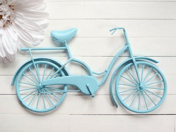Metal Bike Art / Beach Decor / Retro Decor / by ReformedMetals, $32.00