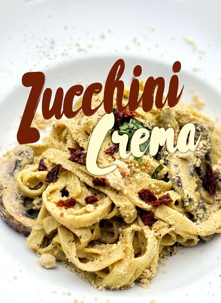 Vegan Zucchini Crema zu Pasta