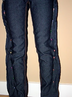 25  best ideas about Make Skinny Jeans on Pinterest | Sewing ...