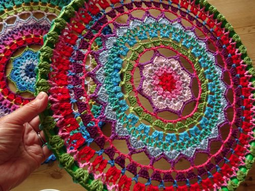 Crochet Mandala Hoops wall hanging                                                                                                                                                                                 More