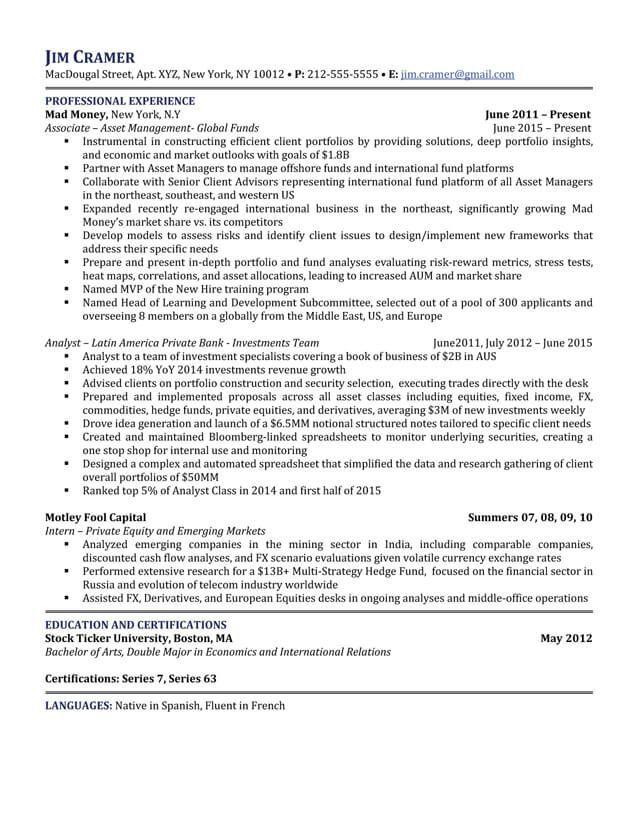 5 Star Resume Samples Resume Templates