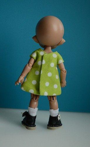 Как я шью платьица для пукифишек (мастер-класс) / Мастер-классы, творческая мастерская: уроки, схемы, выкройки кукол, своими руками / Бэйбики. Куклы фото. Одежда для кукол
