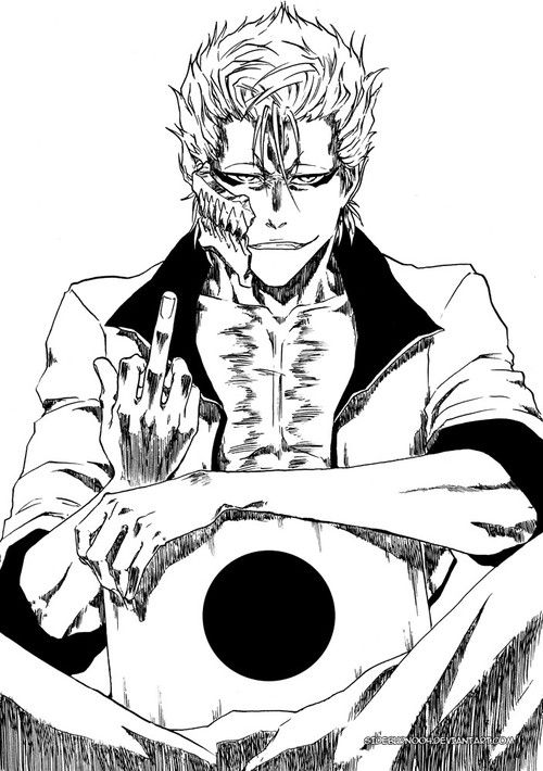 bleach and grimmjow image