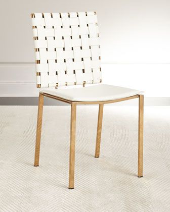 Sangie+Leather+Dining+Chair+by+INTERLUDE+at+Horchow.