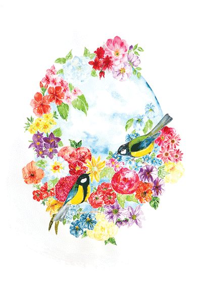 """A3 watercolor printed on 300 g. paperThe paper quality is """"Munken Pure"""", which has an off-white shade.The print is signed and numbered.Edition: 100 pcs.Free worldwide shipping ."""