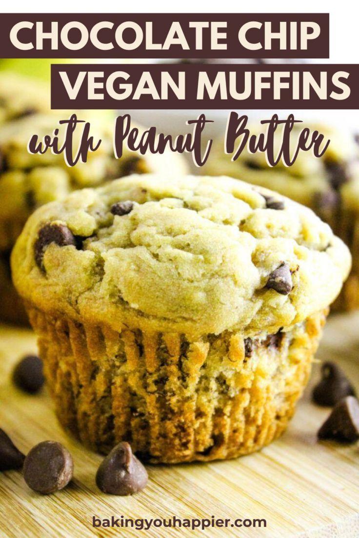 Vegan Banana Chocolate Chip Muffins Baking You Happier Recipe In 2020 Vegan Banana Chocolate Chip Muffins Banana Chocolate Chip Banana Chocolate Chip Muffins