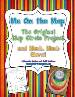 Me on the Map is an activity to get kids thinking about themselves as a part of the world.  They will learn and visualize the difference between city, state, country, and world with this fun activity.