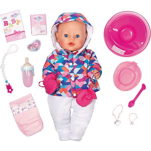 Exklusiv Baby Born Soft Touch Girl Wintertime Zapf Creation In 2020 Baby Born Zubehor Baby Geboren Zapf Creation