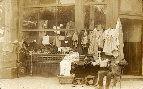 An Edwardian secondhand shop